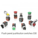 New Elfin Flush panel pushbutton switches 030