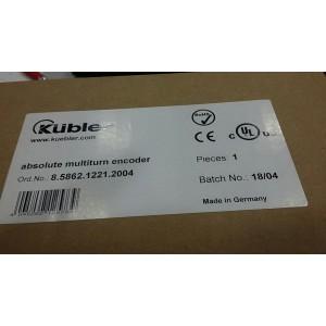 Kübler 8.5862.1221.2004 Absolute Multiturn Encoder